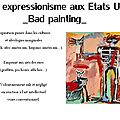 Présentation bad painting