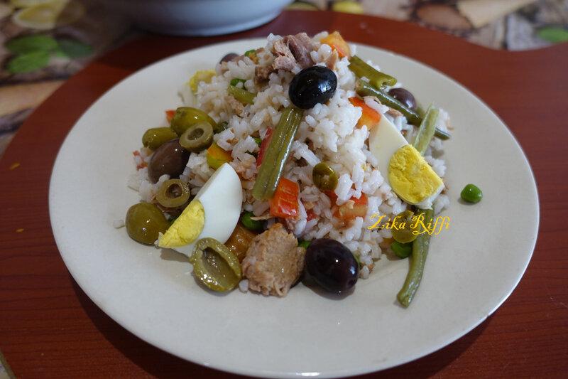 salade de riz estivale