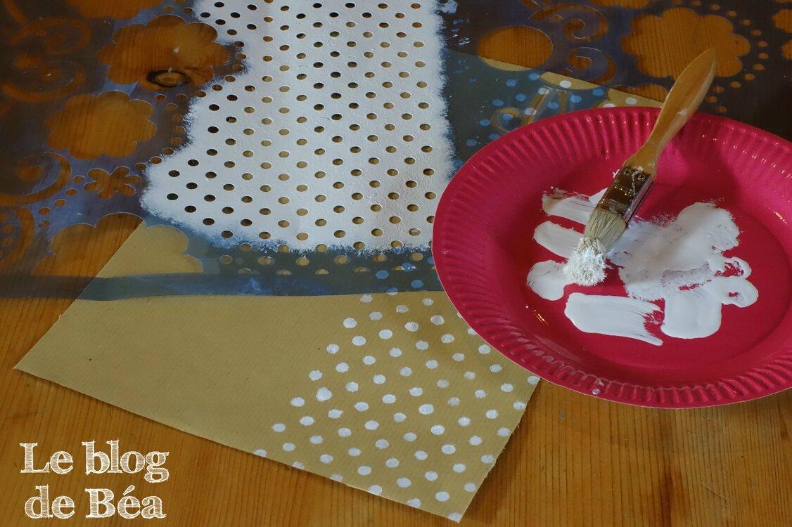 DIY calendrier de l'Avent renne de Noël en palette