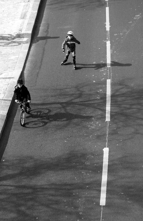 vélo, Ombre, quai de seine_7271