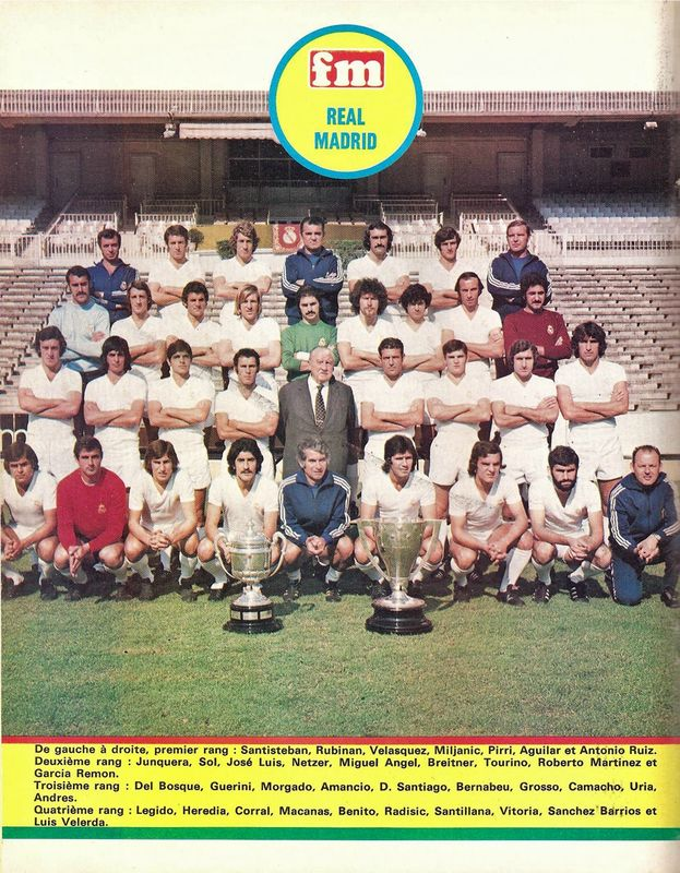 REAL MADRID (1975 -1976)