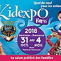 10 x 2 pass duo à gagner pour venir à la kidexpo 2018 {concours terminé}