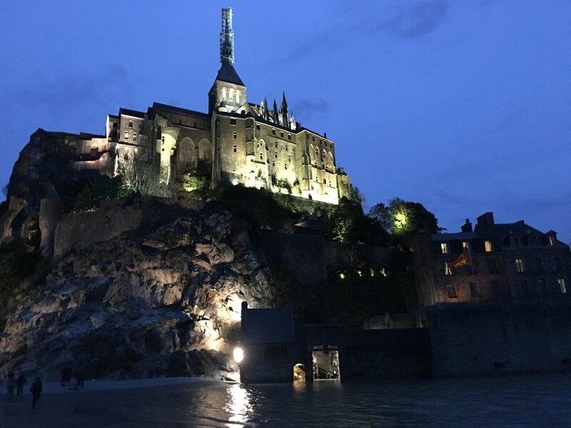 le Mont-Saint-Michel Manche nuit 2016