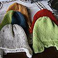 Lot de bonnet péruviens 8-12mois