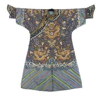 a_formal_court_robe_of_brown_silk_for_an_imperial_duke_qing_dynasty_ci_d5434837h