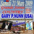 Gary p nunn, un texan, remarquable song writer, découvre la bretagne / gary p.nunn on tour in brittany, west of france