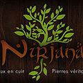 Nirjana : barrettes, bracelets, colliers et diadèmes en cuir