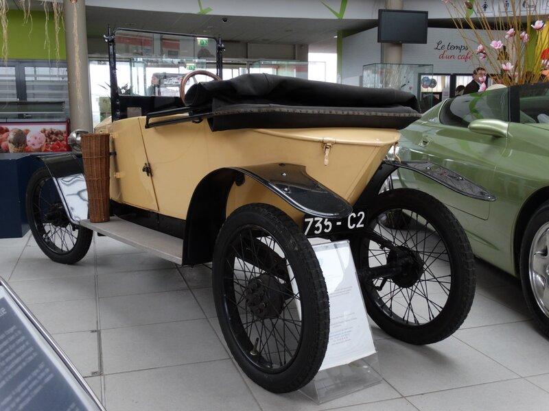 PEUGEOT Quadrilette type 161E 1921 Aire d'Ecot (2)