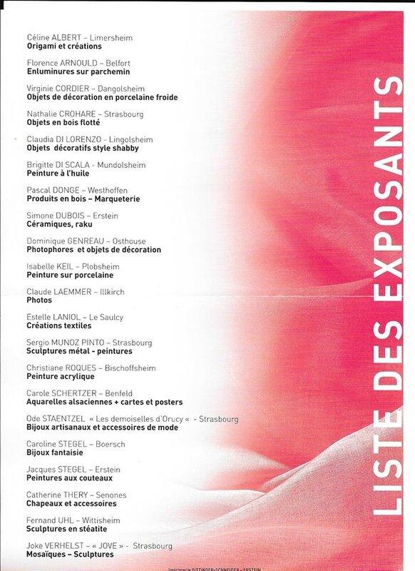 ex'prim 2017 liste