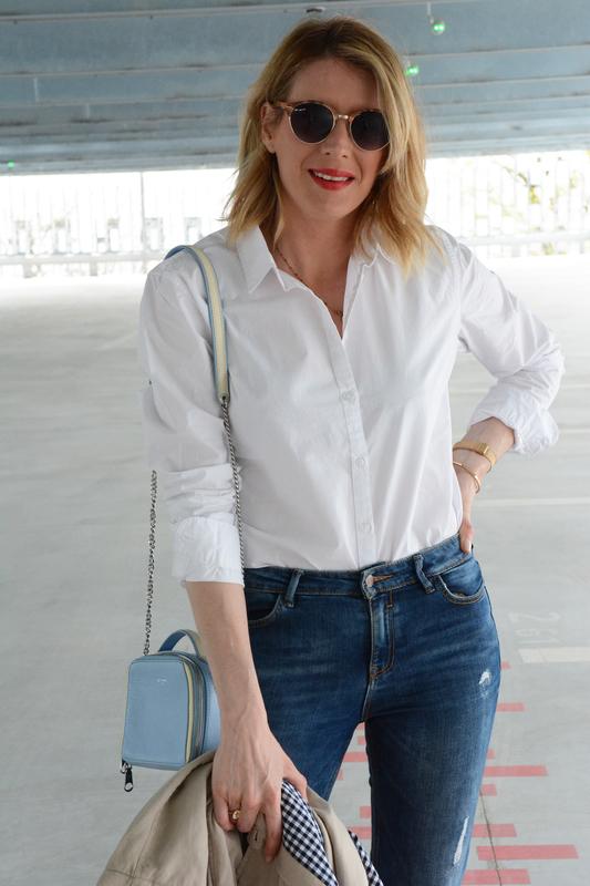 Casual chic en Chemise blanche - styliz (35)