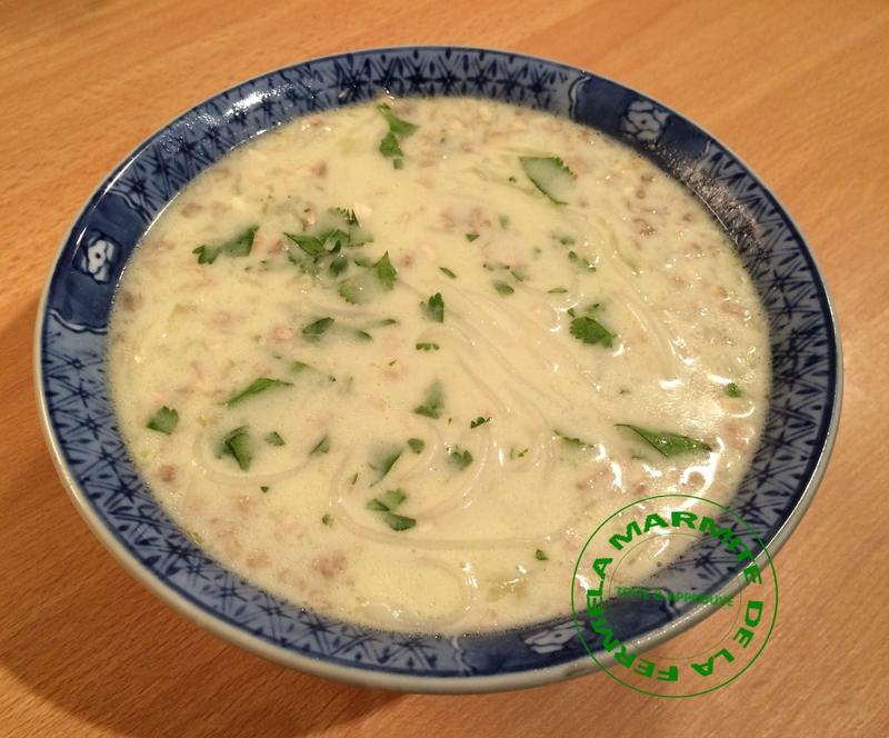 Soupe Thaï aux crevettes et lait de coco (7)