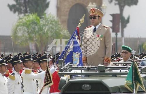 صاحب الجلالة القائد الاعلى للقوات المسلحة الملكية