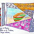 Saint-Malo (haîku) - 8 euros (10$CAD) - disponible