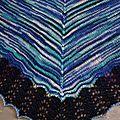 Châle Pacific coton