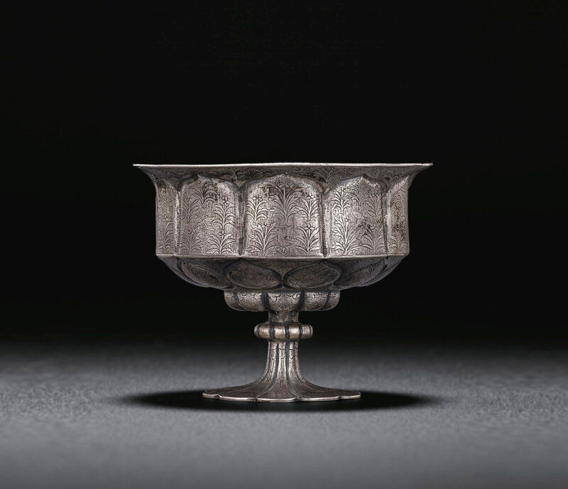2019_NYR_18338_0558_000(a_rare_silver_petal-lobed_stem_cup_tang_dynasty)