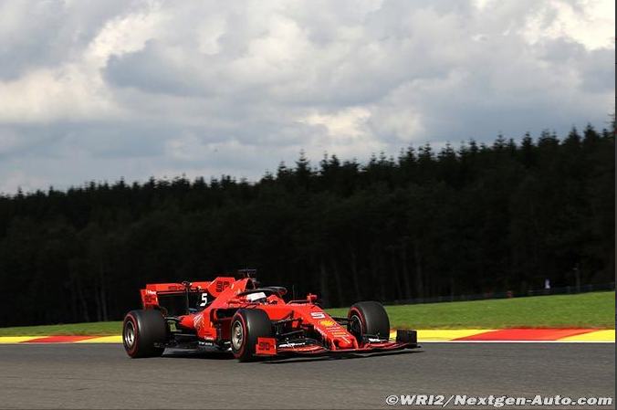 2019-Spa Francorchamps-SF90-Vettel