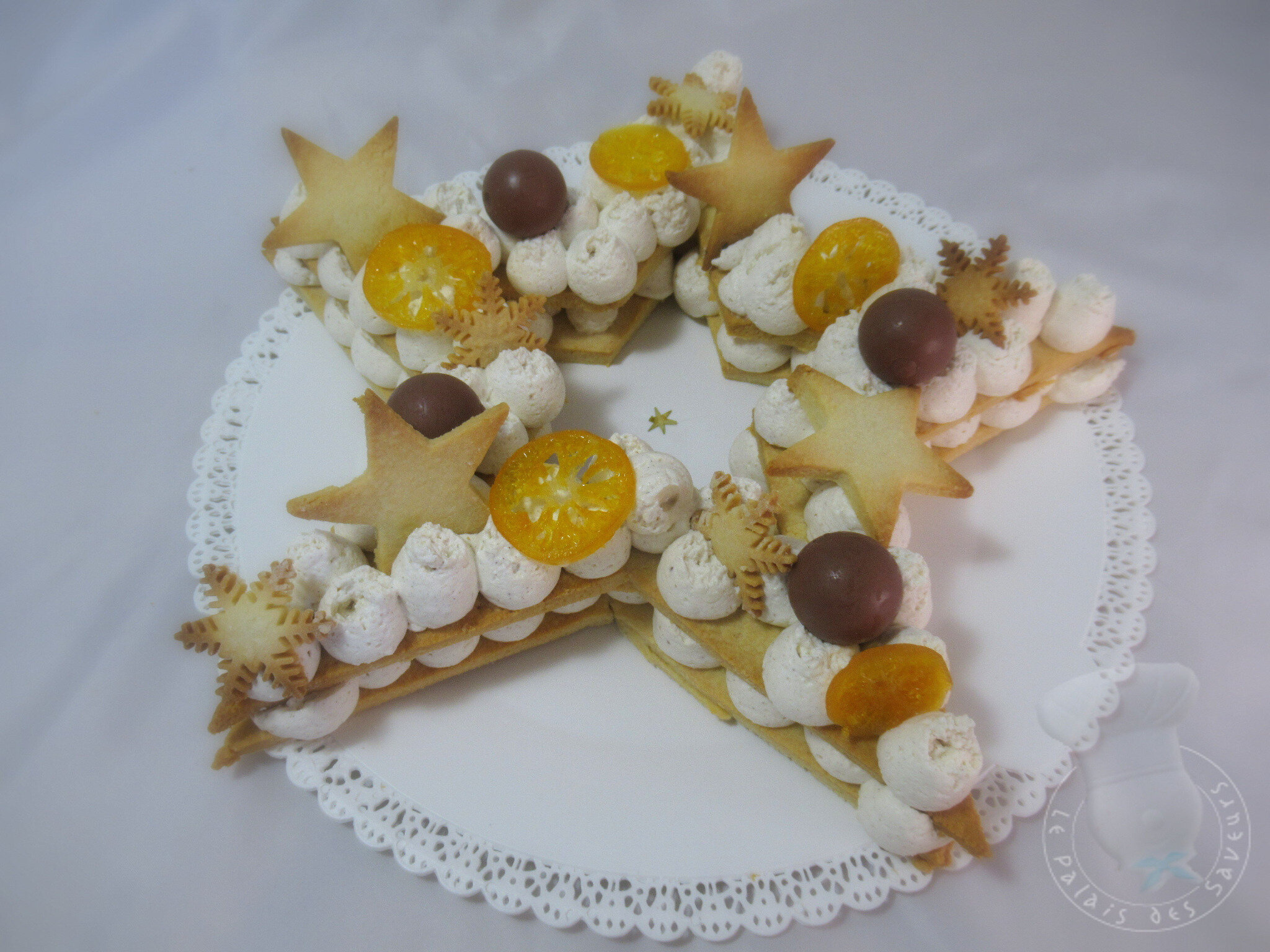 Star cake aux épices