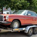 La mercedes 280 c (w114) version us (1972-1976)(regiomotoclassica 2011)