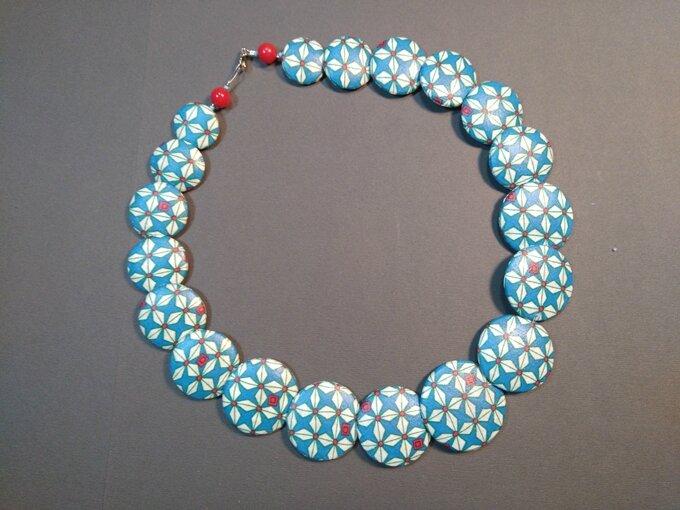 Collier Helium turquoise