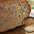 Pain de mie à la farine compléte ( au thermomix )
