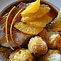 Roti de porc a l'orange
