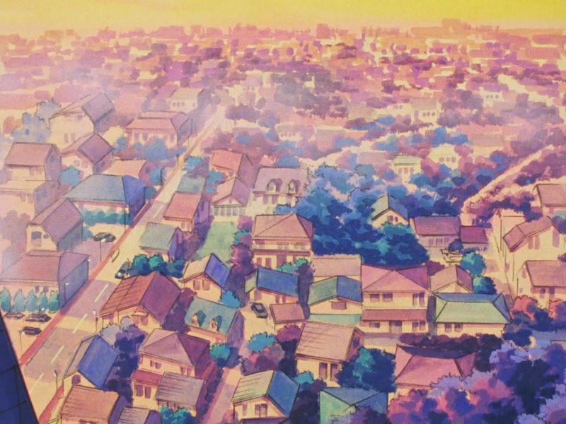 Canalblog Japon Anime Kimagure Orange Road Décors Ville Episode32 01