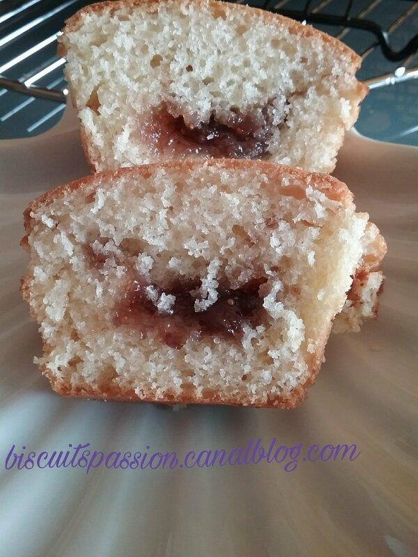 Muffins à la confiture de figues violettes 030