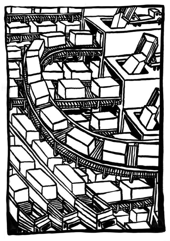 usine de conteneurs