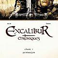Excalibur - chroniques - istin, brion