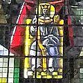 10_Brest_Cathédrale St Louis_vitraux vie St Louis_détail 1