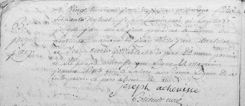 1778 N Joseph JEAN