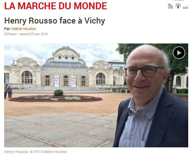 rousso-vichy