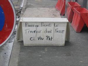 Trottoir