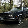 Chevrolet malibu cl wagon 1982-1983