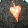 heart brain cane brun detail