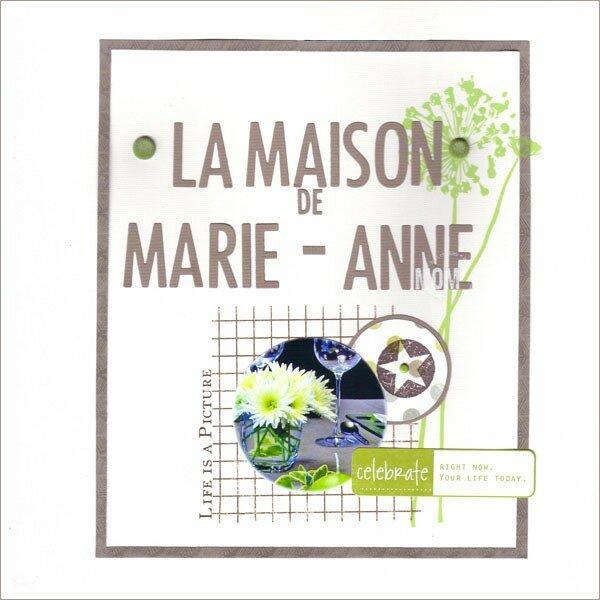 14La maison de Marie-Anne