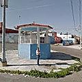 Rond-point à puebla (mexique)