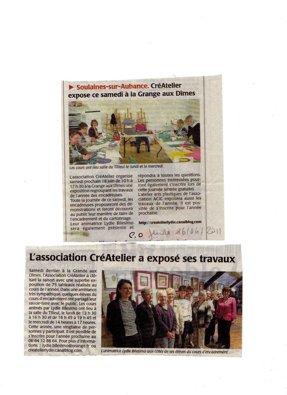 Articles expo Soulaines 2011001
