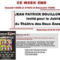 Jp douillon a paris ce wekk end