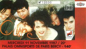 1987_11_The_Cure_POP_Bercy_Billet