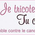 Une bannière pour soutenir octobre rose