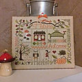 Sampler Automne finition Laptitesardine