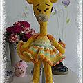 Girafe au crochet