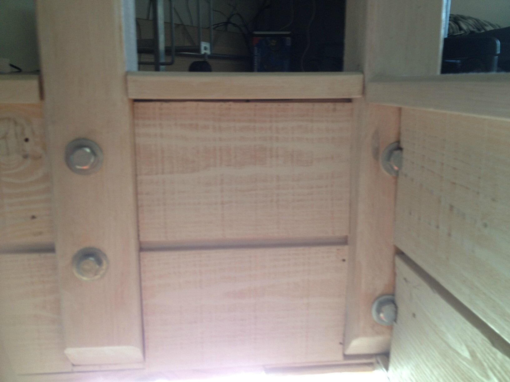 garde corps fait maison plexiglas et bois tout simple cathypety. Black Bedroom Furniture Sets. Home Design Ideas