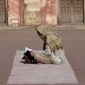 Abîmé dans la prière