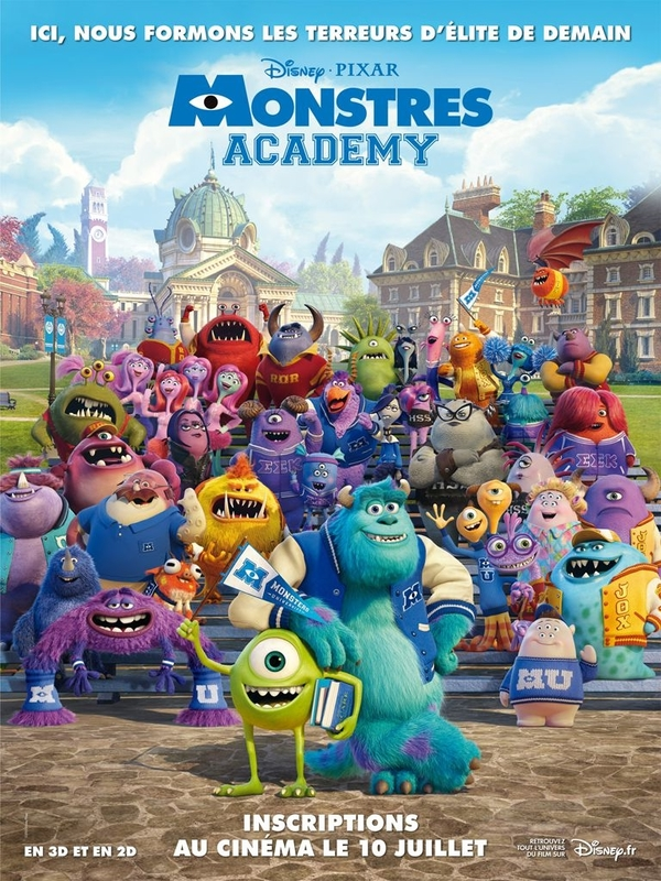Monstres_Academy affiche