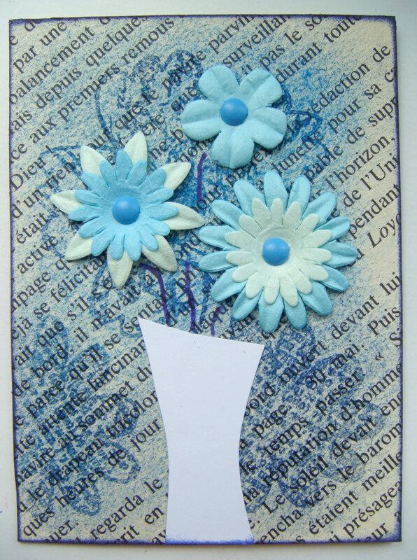 envoyée à Micheline fleur bleue