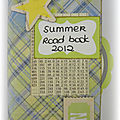 Summer Roadbook 2012