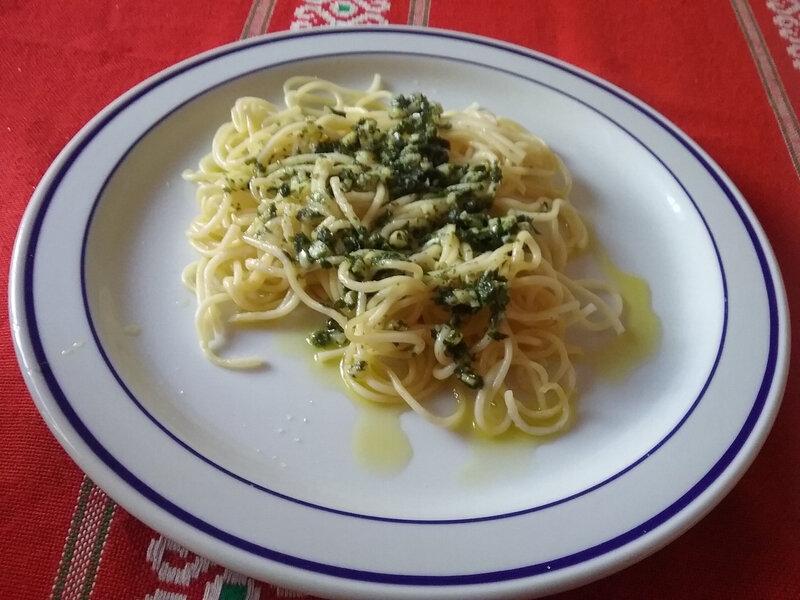 Spaghetti à la sauce gremolata1