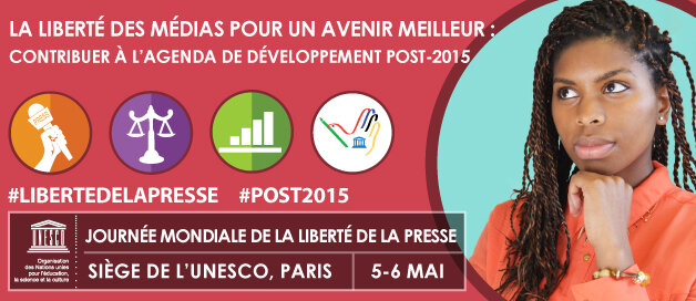 Liberté de la Presse 2014. Photo Unesco